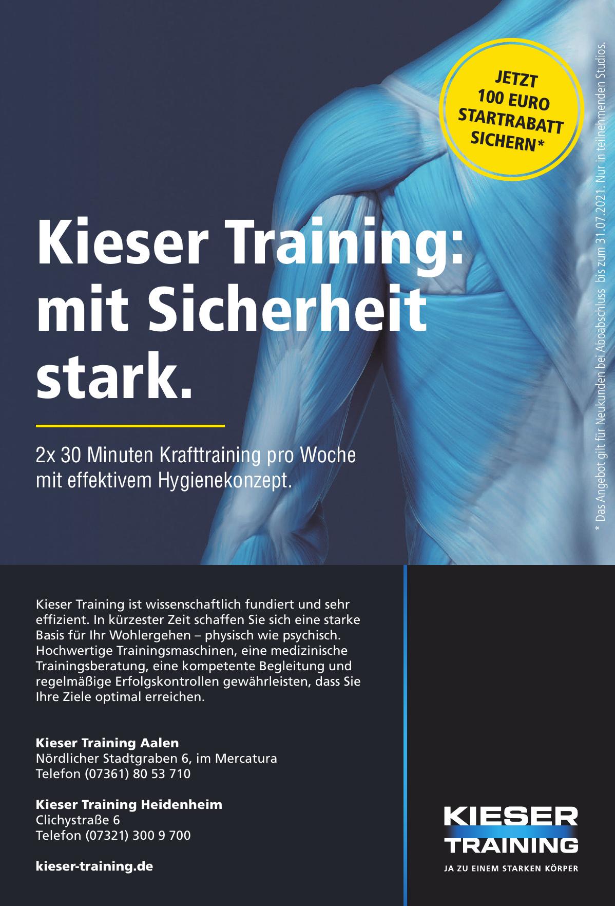 Kieser Training Aalen