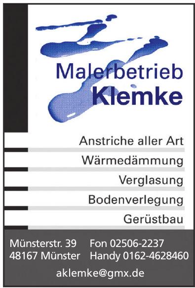 Malerbetrieb Klemke