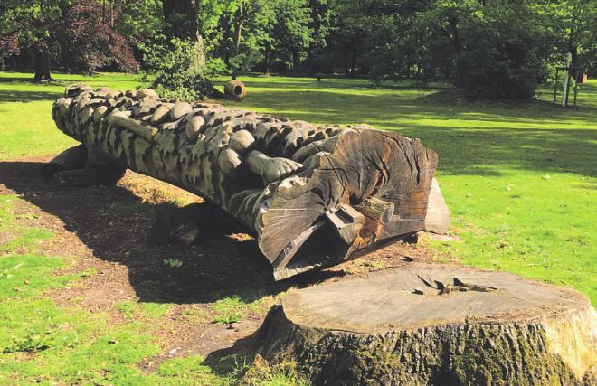 Vor Ort können die Skulpturen bestaunt werden. Bild: KRR