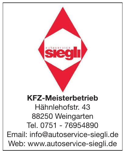 Siegli KFZ-Meisterbetrieb