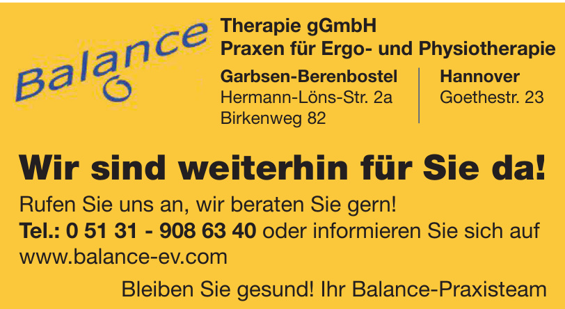 Balance Therapie gGmbH