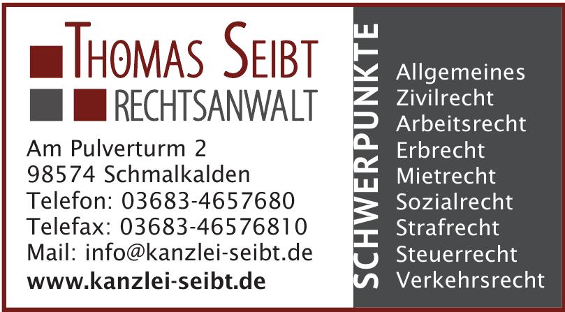 Thomas Seibt Rechtssanwalt