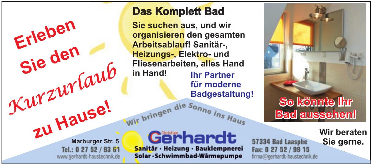 Christian Gerhardt