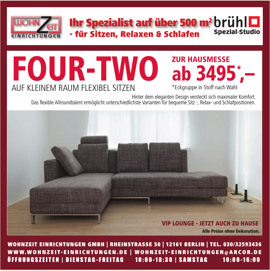 WohnZeit Einrichtungen GmbH