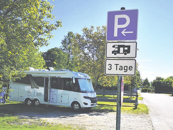 Der WoMo-Urlaub boomt: Stellplatz im bayerischen Waisach