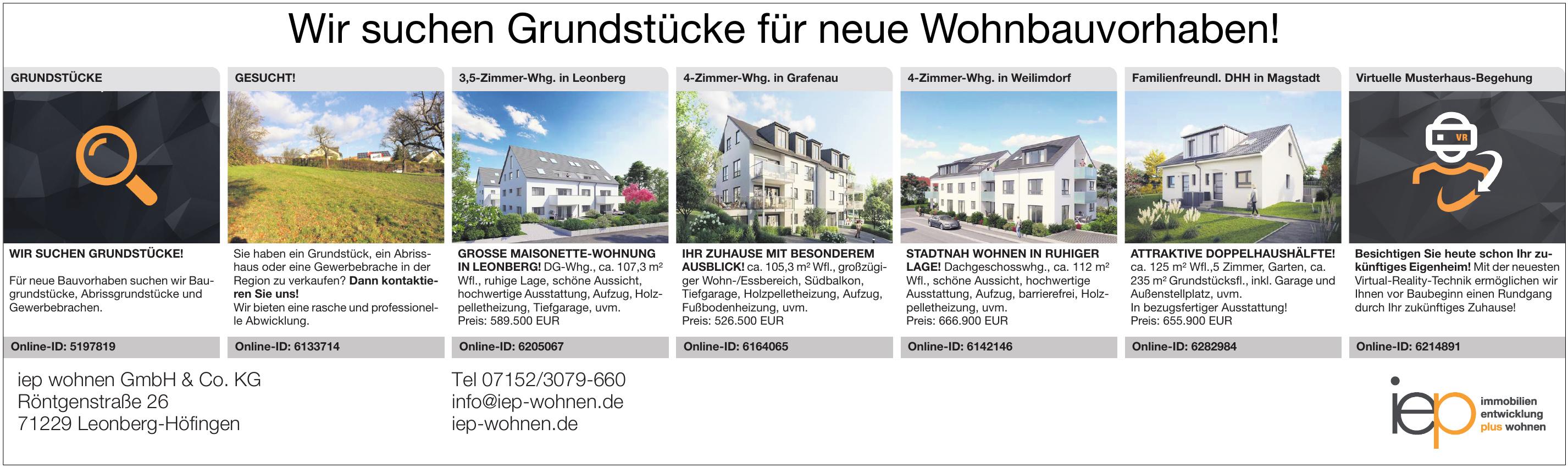 iep wohnen GmbH & Co. KG