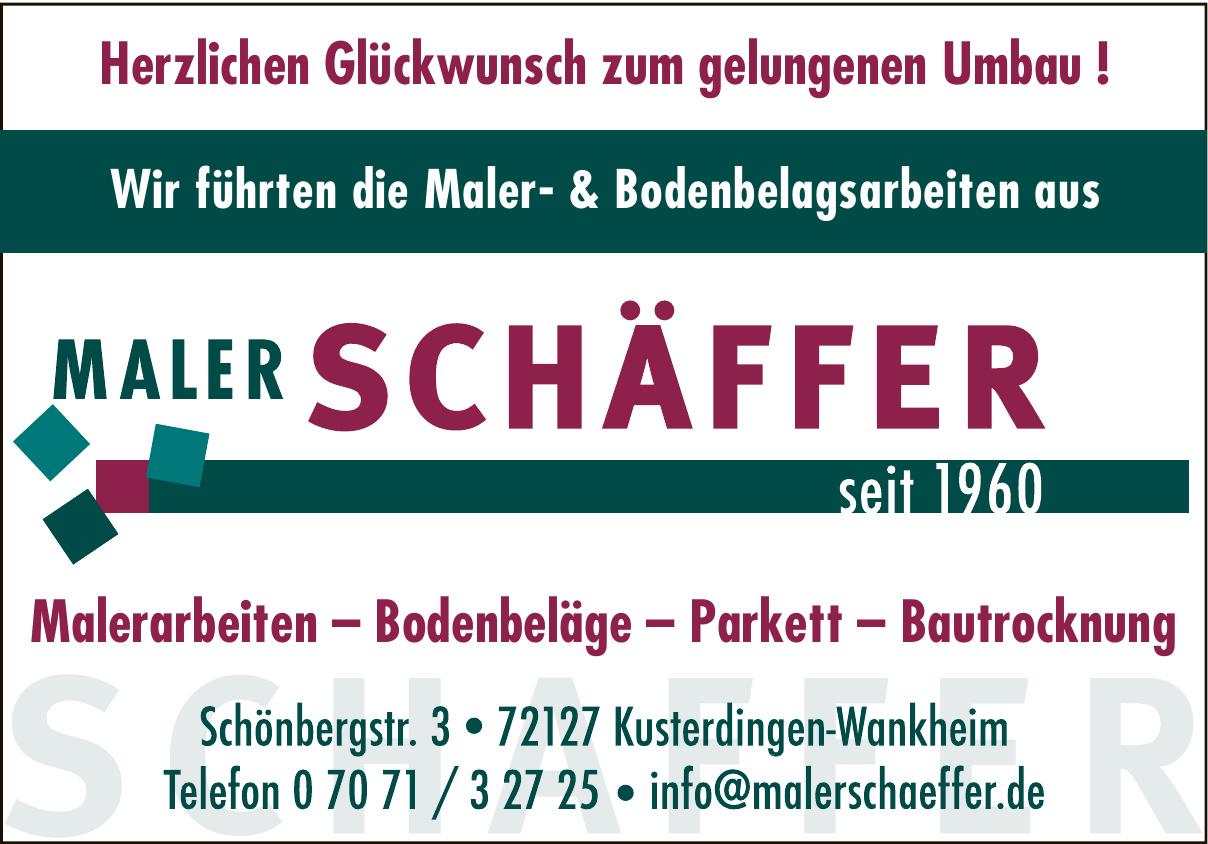 Maler Schäffer