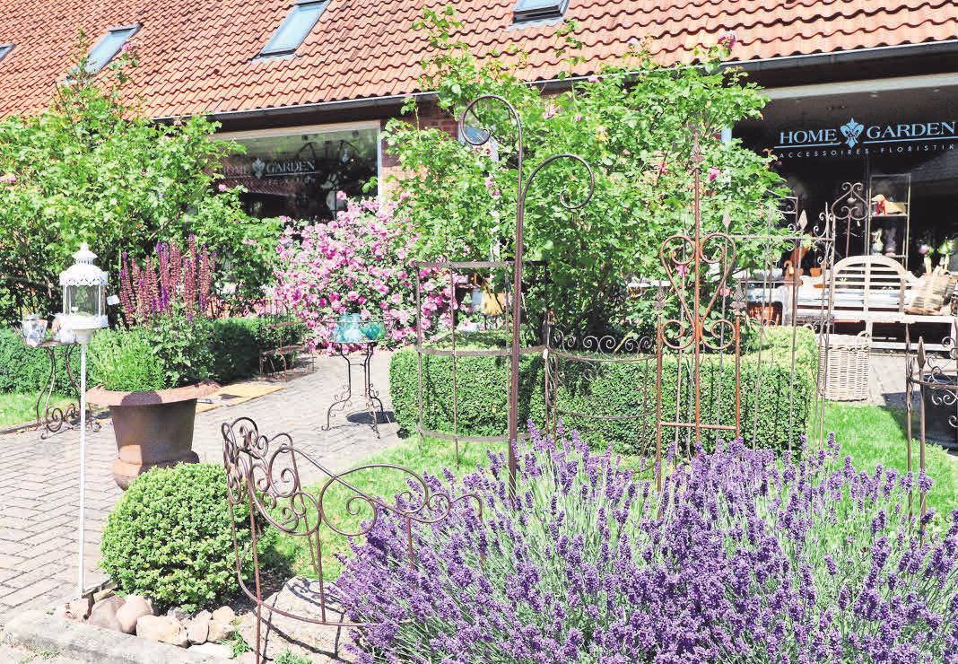 Bei Home & Garden gibt es alles Schöne für den Garten.
