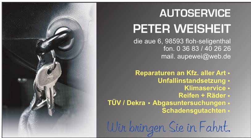 Autoservice Peter Weisheit