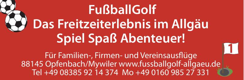 FußballGolf  Allgäu