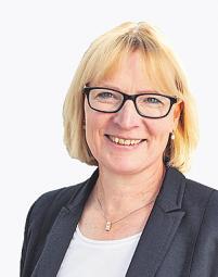 Stefanie Haaks, die Vorstandsvorsitzende der KVB