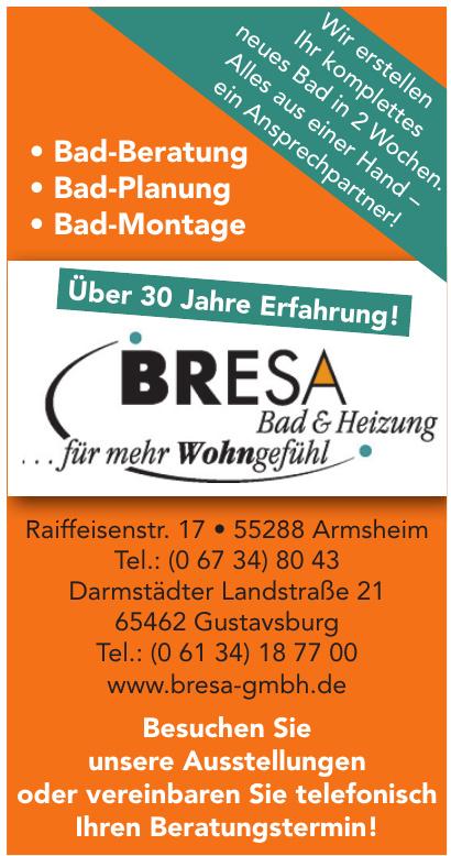 Bresa Bad & Heizung