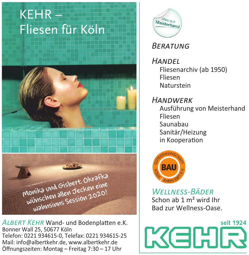 Albert Kehr Wand- und Bodenplatten e.K.