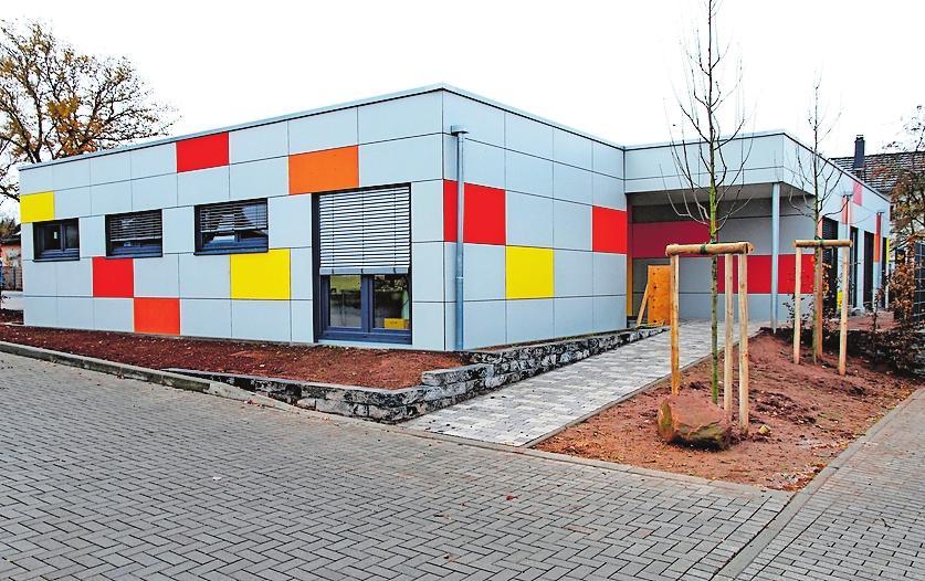 """Hat ein neues Domizil in der Römerstraße gefunden: die Kindertagesstätte """"Rasselbande"""". FOTO: ELIG"""