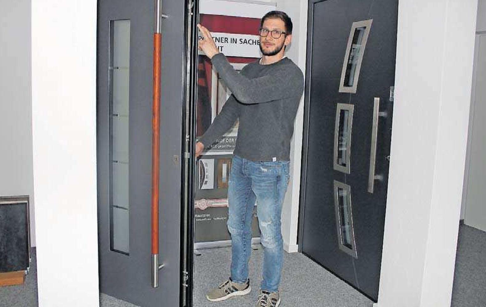 Moderne Haustüren bieten Schutz und Komfort