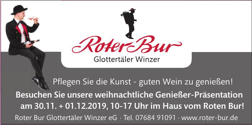 Roter Bur Glottertäler Winzer eG