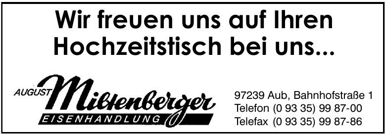 Eisenhandlung August Miltenberger