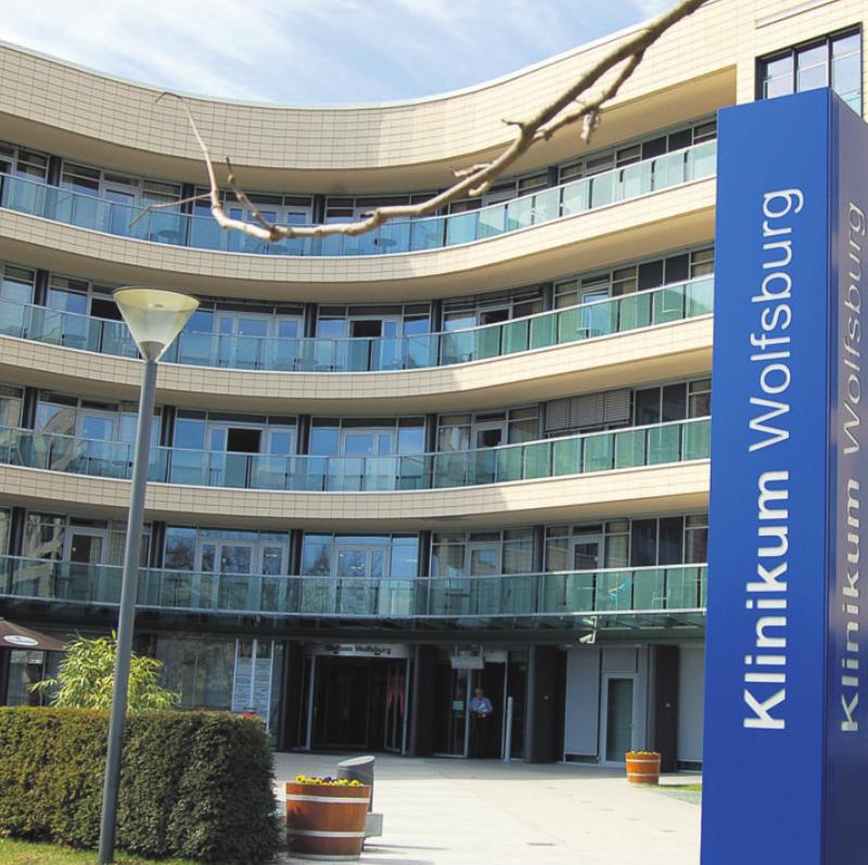 Das Wolfsburger Klinikum Archivfoto: ph