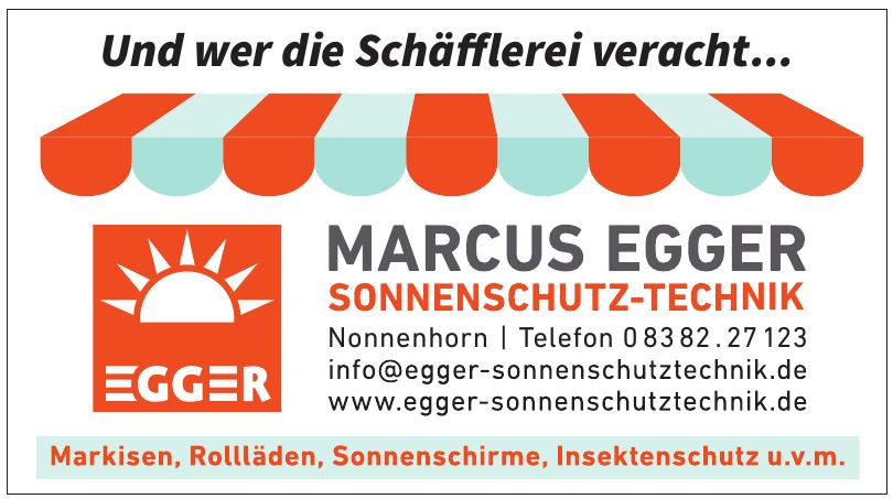 Marcus Egger Sonnenschutz-Technik