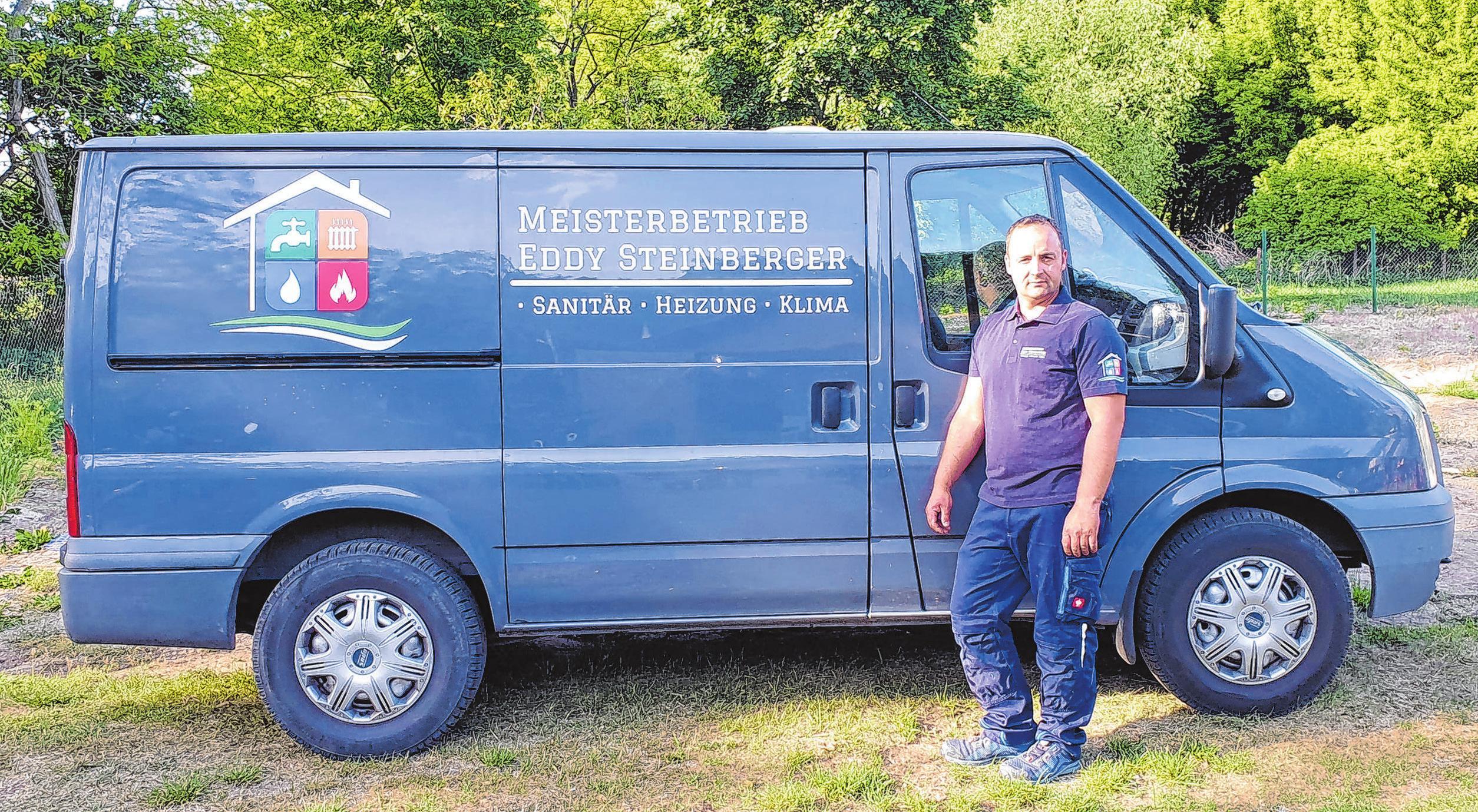 Betreibt seit 1. April sein eigenes Unternehmen: Handwerksmeister Eddy Steinberger Foto: privat