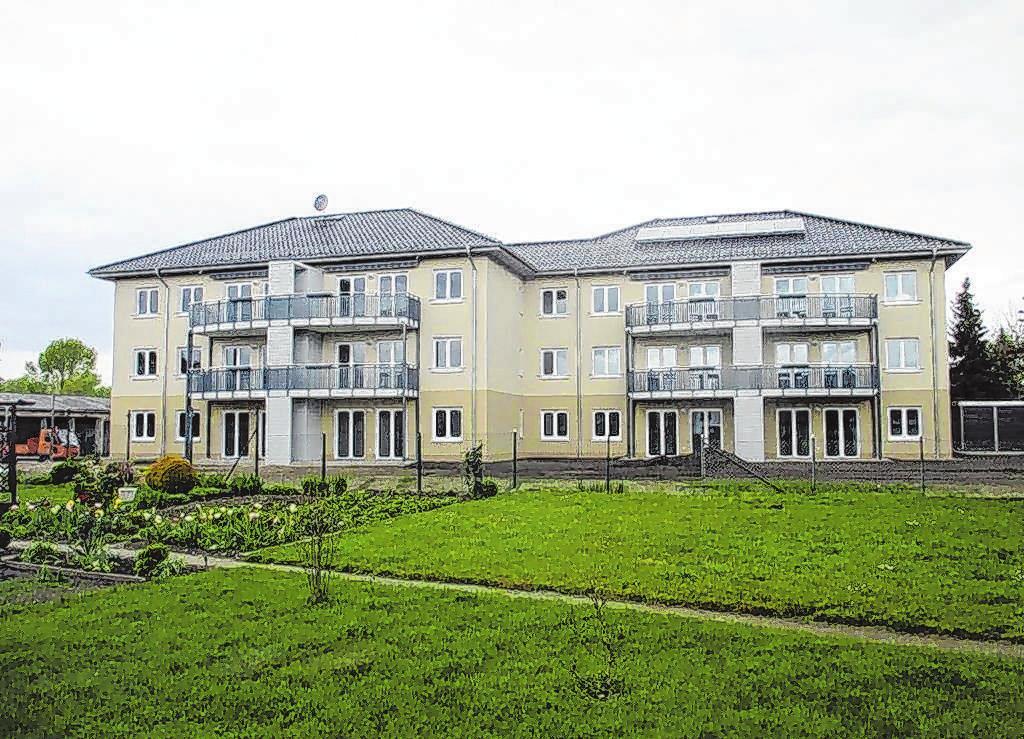 In der Frankfurter Straße in Seelow haben Mitarbeiter der Firma Breitmann an der Ausstattung von drei Mehrfamilienhäusern mitgewirkt. Fotos (2): Fa. Breitmann