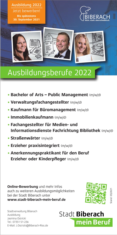Stadtverwaltung Biberach