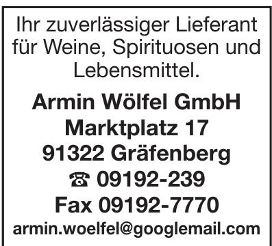 Armin Wölfel GmbH