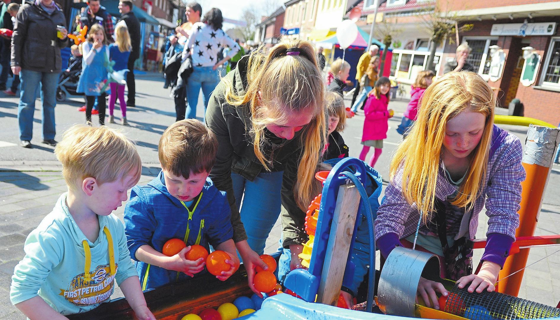 Auch für die kleinen Besucher gibt es am Sonntag ein großes Programm, dass viel Spaß verspricht. Foto: Rupert Joemann
