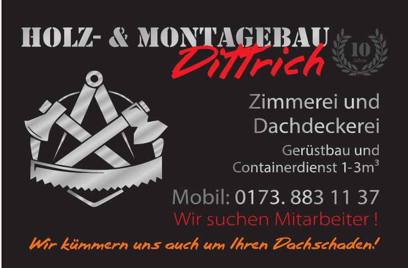 Holz- & Montagenbau Dittrich