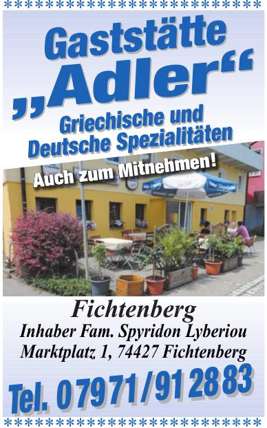"""Gaststätte """"Adler"""""""