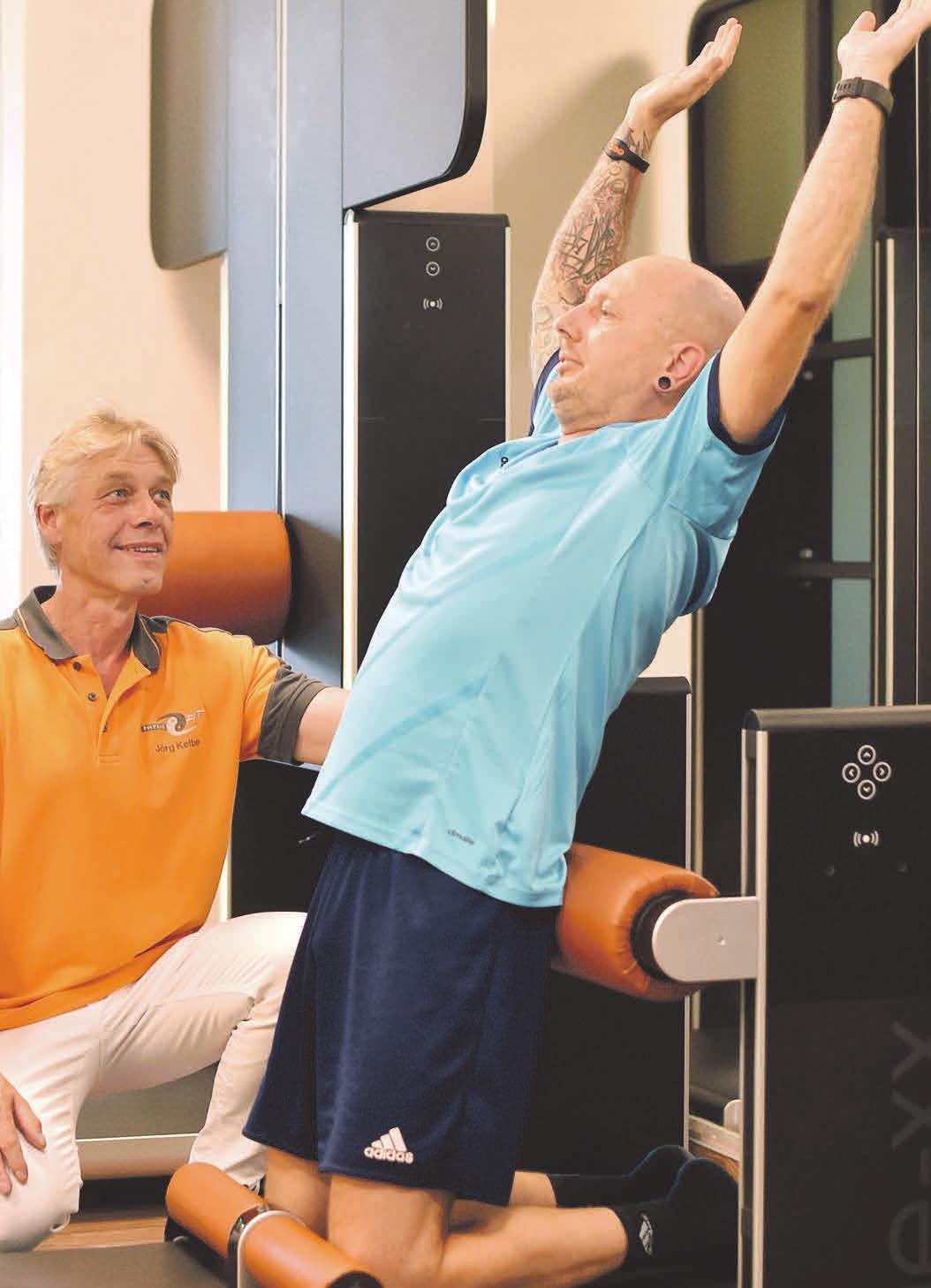 A-Lizenz Trainer Jörg Kelbe empfiehlt efle-xx. Foto: Ralf Büchler