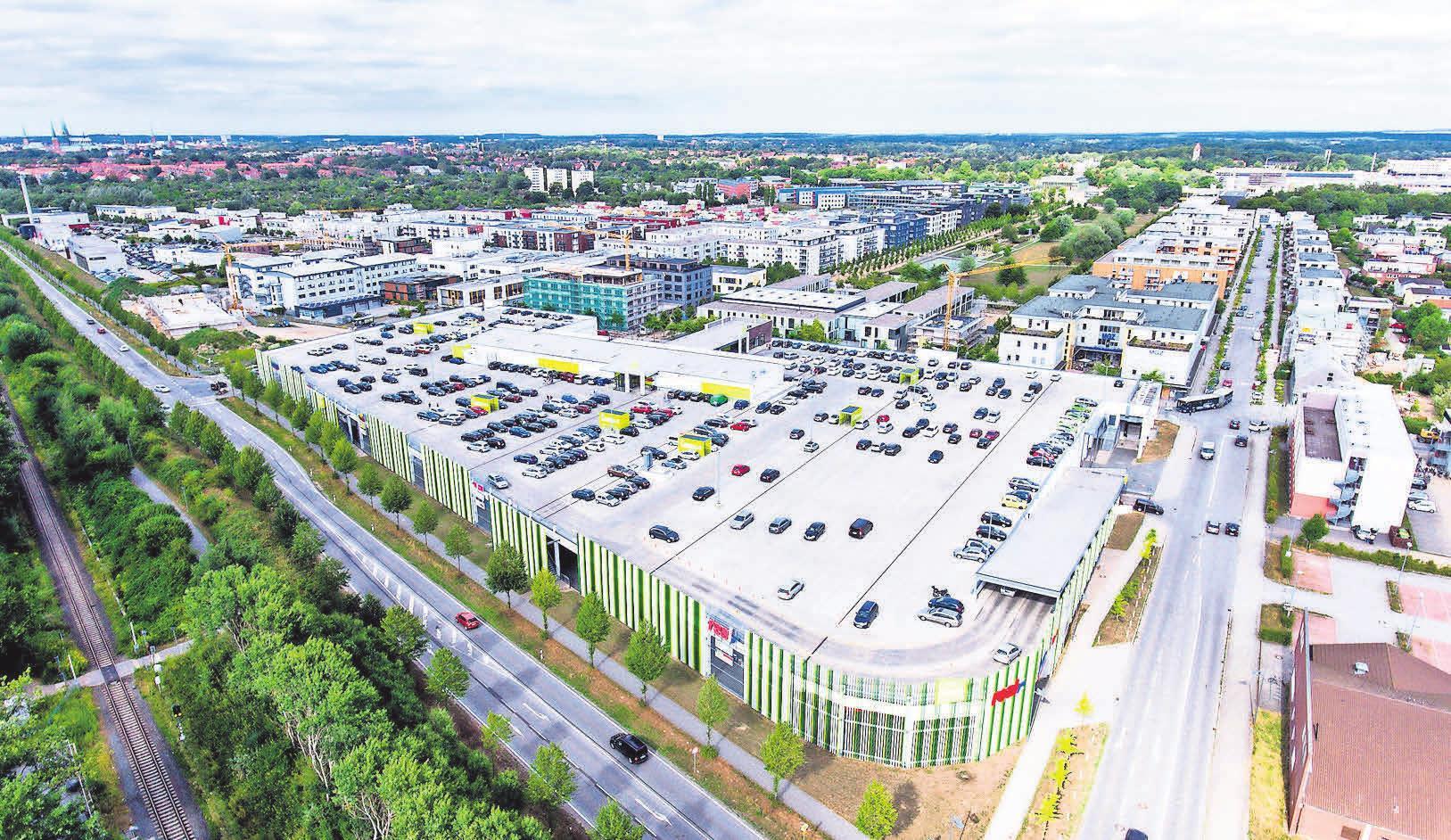 Shopping und Erlebnisse – im Campus Center Lübeck findet sich alle unter einem Dach. Grafik: Campus Lübeck
