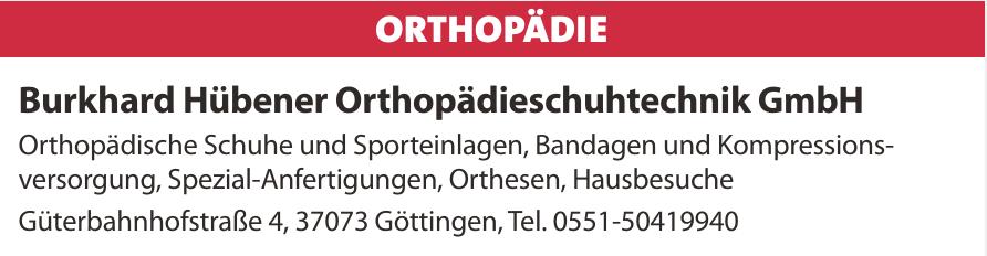 Burkhard Hübener Orthopädieschuhtechnik GmbH