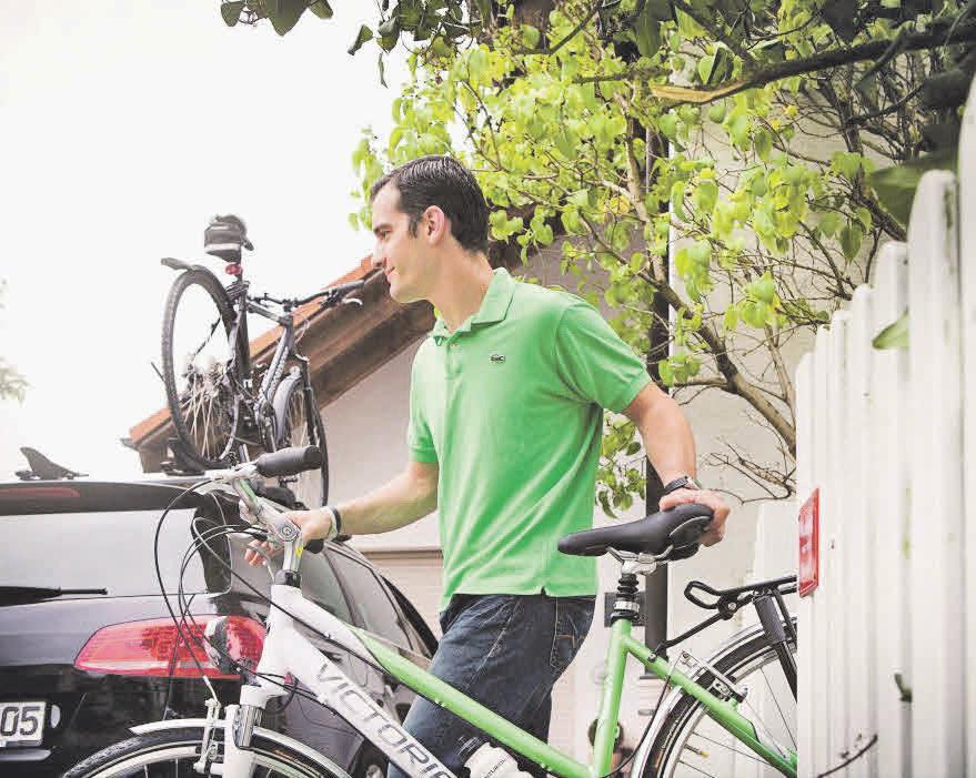 Wer sein Fahrrad mit dem Auto ans gewünschte Ziel transportiert, sollte einiges beachten.