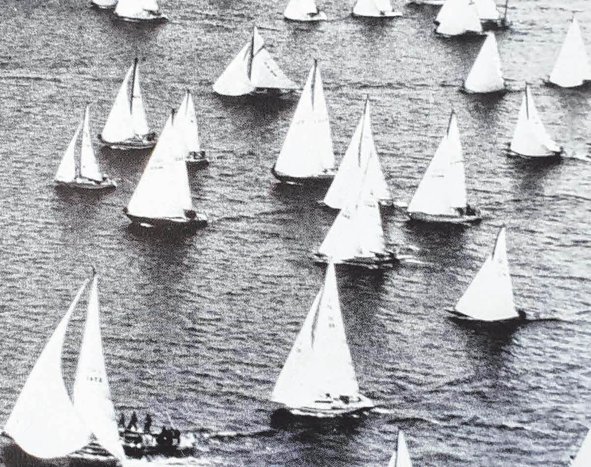 Der Start zur Langstrecke 1985.