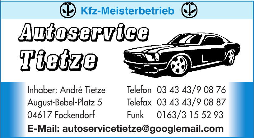 Autoservice Tietze