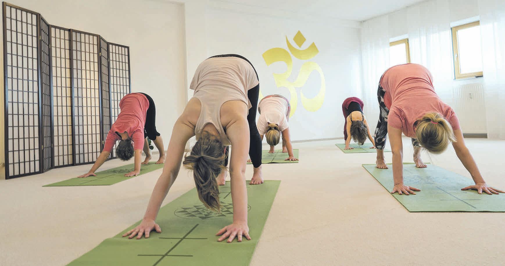 Im Yogazentrum Ilsede werden die meisten Yogaklassen angeboten. Foto: privat