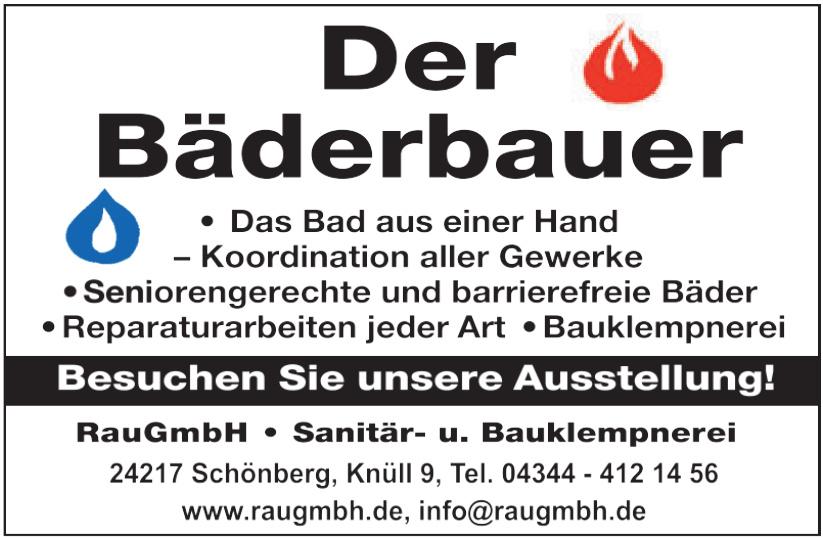 Rau GmbH Sanitär- u. Bauklempnerei