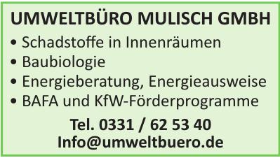 Umweltbüro Mulisch GmbH