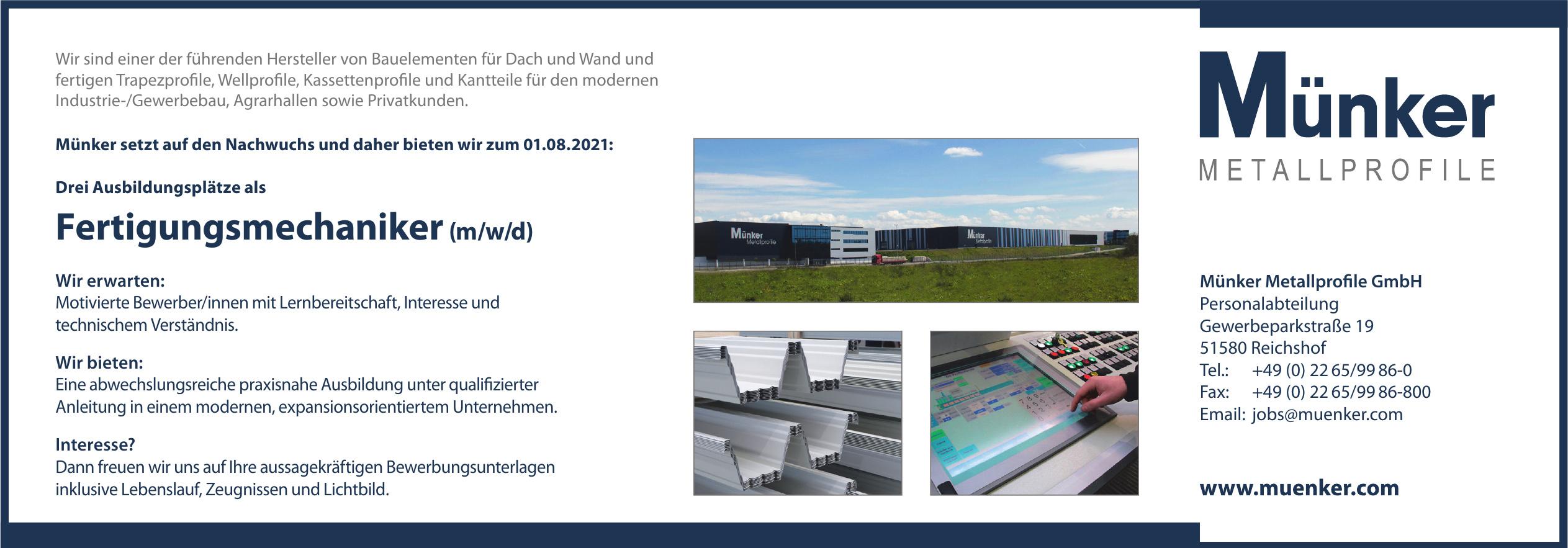 Münker Metallprofile GmbH