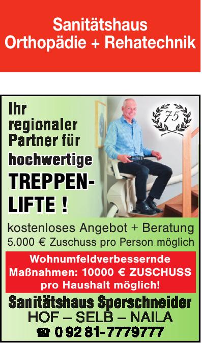Sperschneider Sanitätshaus GmbH Orthopädie & Rehatechnik