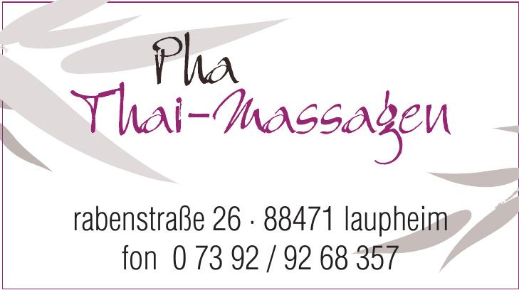 Pha Thai-Massagen
