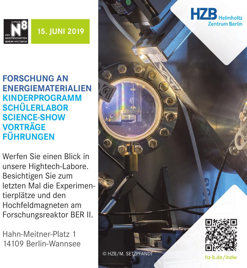 HZB Helmholtz Zentrum Berlin
