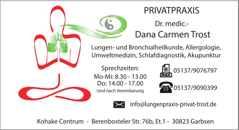 Privatpraxis Dr. medic.- Dana Carmen Trost