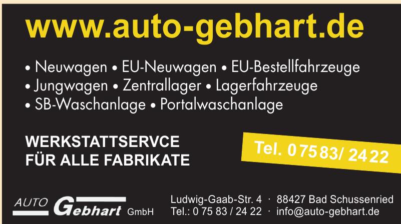Auto Gebhart GmbH