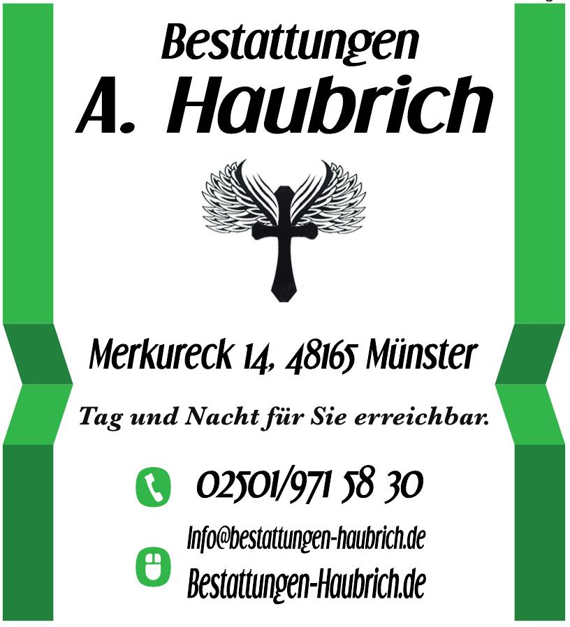 Bestattungen A. Haubroch