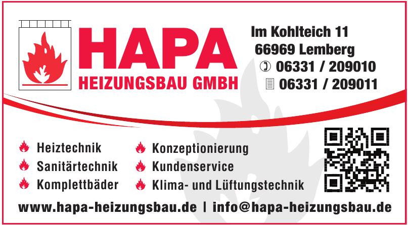HAPA – Heizungsbau GmbH