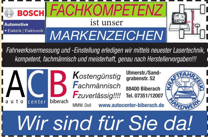 ACB Auto Center Biberach