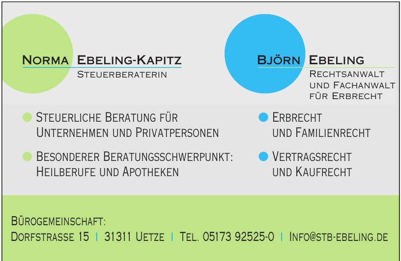 Norma Ebeling-Kapitz Steuerberaterin