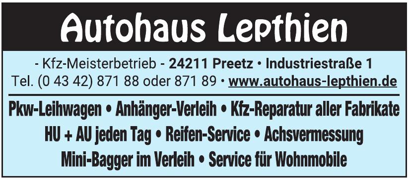 Autohaus Lepthien